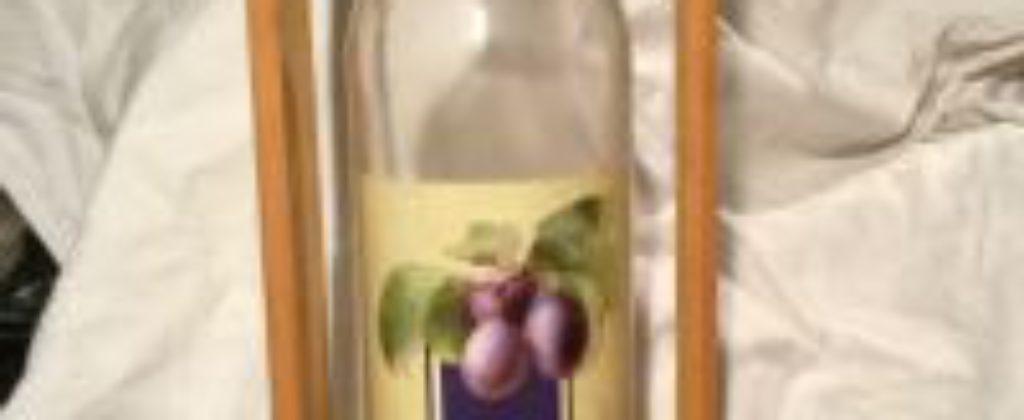 Ozdobná fľaša - vhodný darček