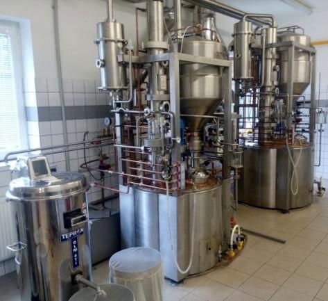 Destilačné zariadenie KPD 150 a KPD 300
