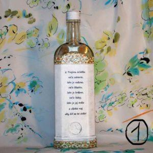 Ozdobná fľaša
